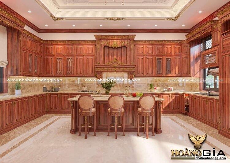 mẫu tủ bếp treo tường đẹp
