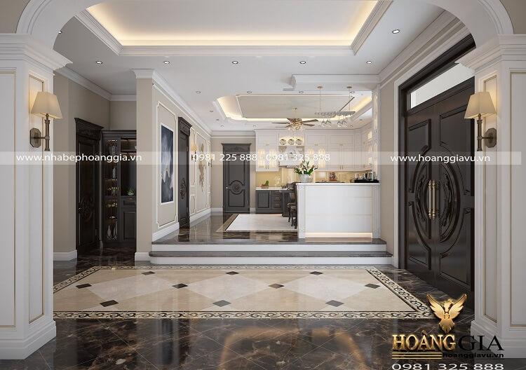 thiết kế nội thất biệt thự tân cổ điển nhà biệt thự