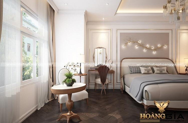 thiết kế phòng ngủ đương đại