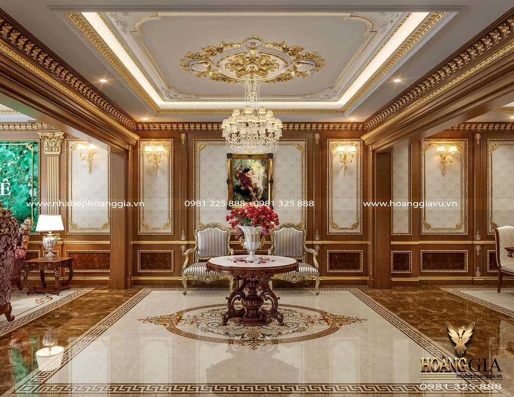 thiết kế nội thất tân cổ điển cao cấp