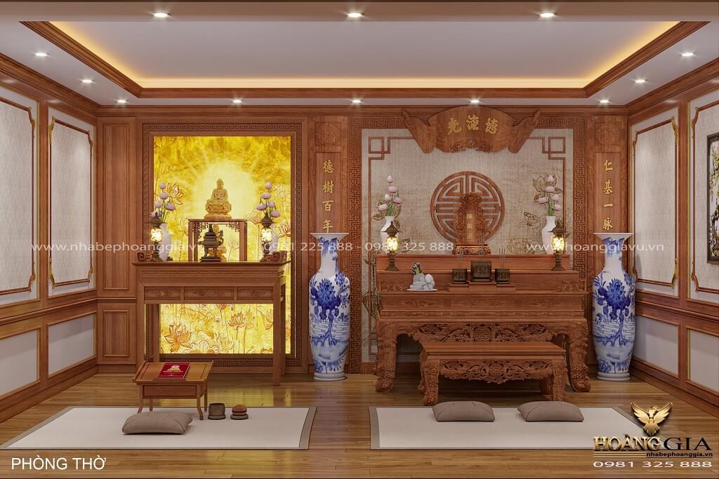 thiết kế kiến trúc nội thất nhà thờ tổ