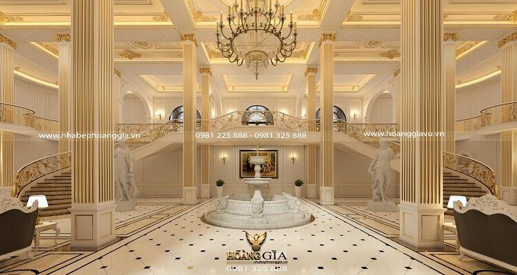 thiết kế thi công nội thất khách sạn 5 sao