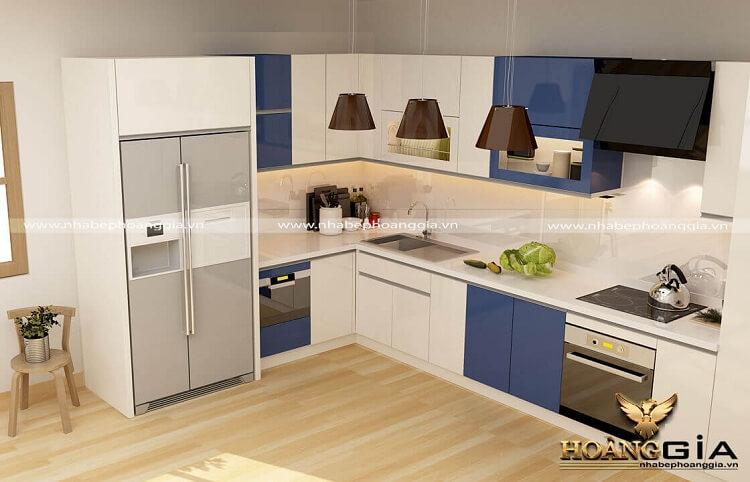 tủ bếp module đóng sẵn