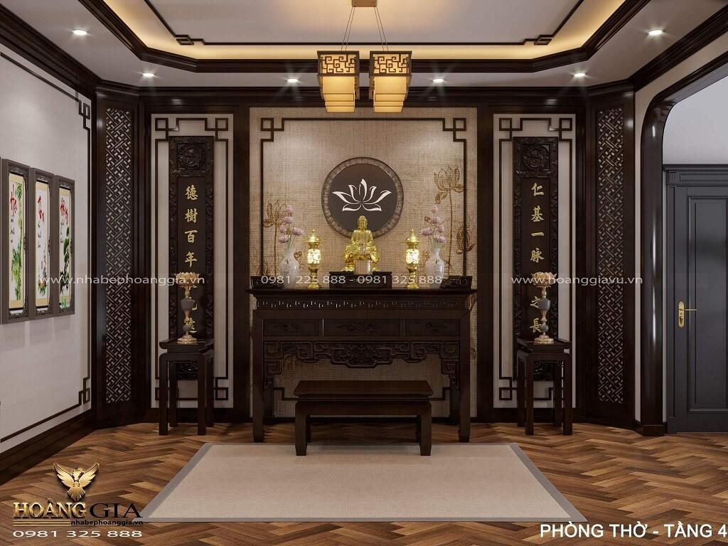thiết kế nội thất biệt thự Indochine