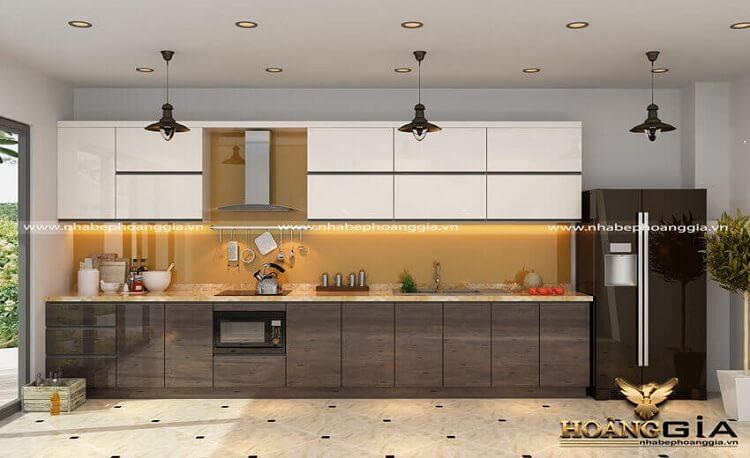 mẫu tủ bếp đẹp nhất 2021