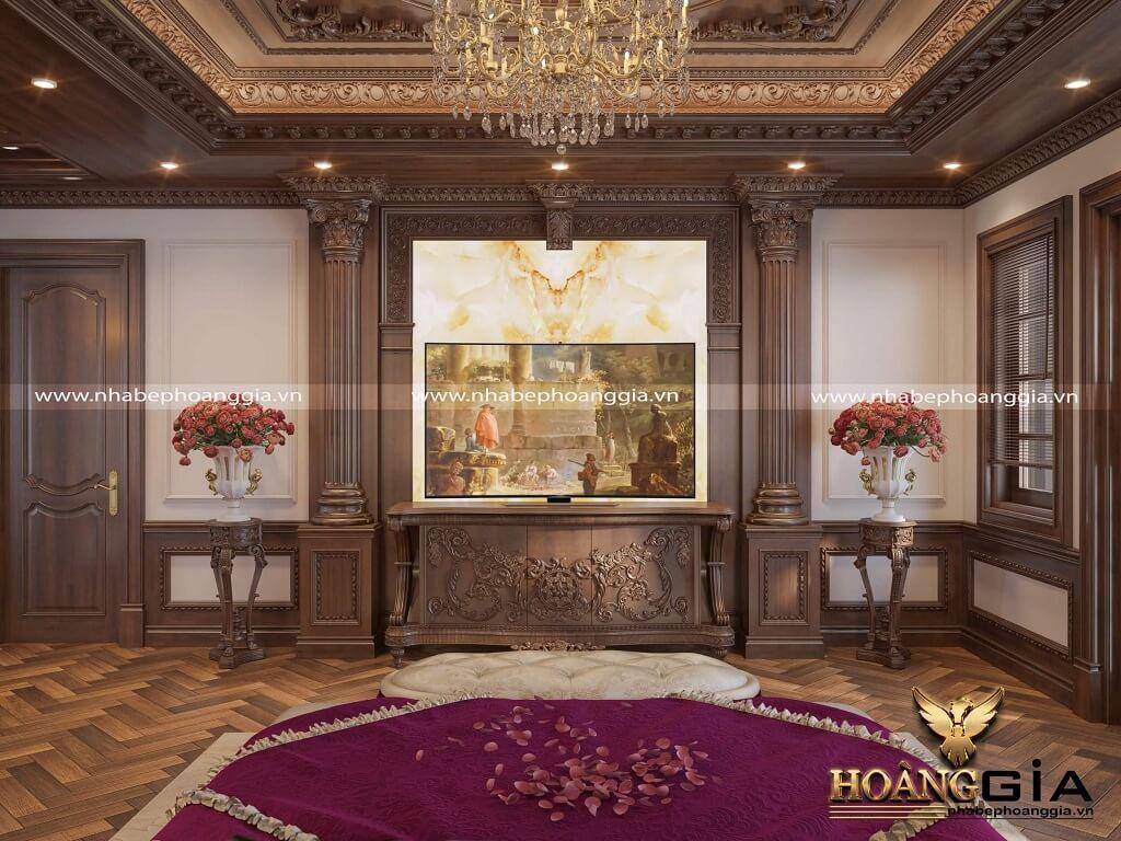 thiết kế thi công nội thất biệt thự tân cổ điển
