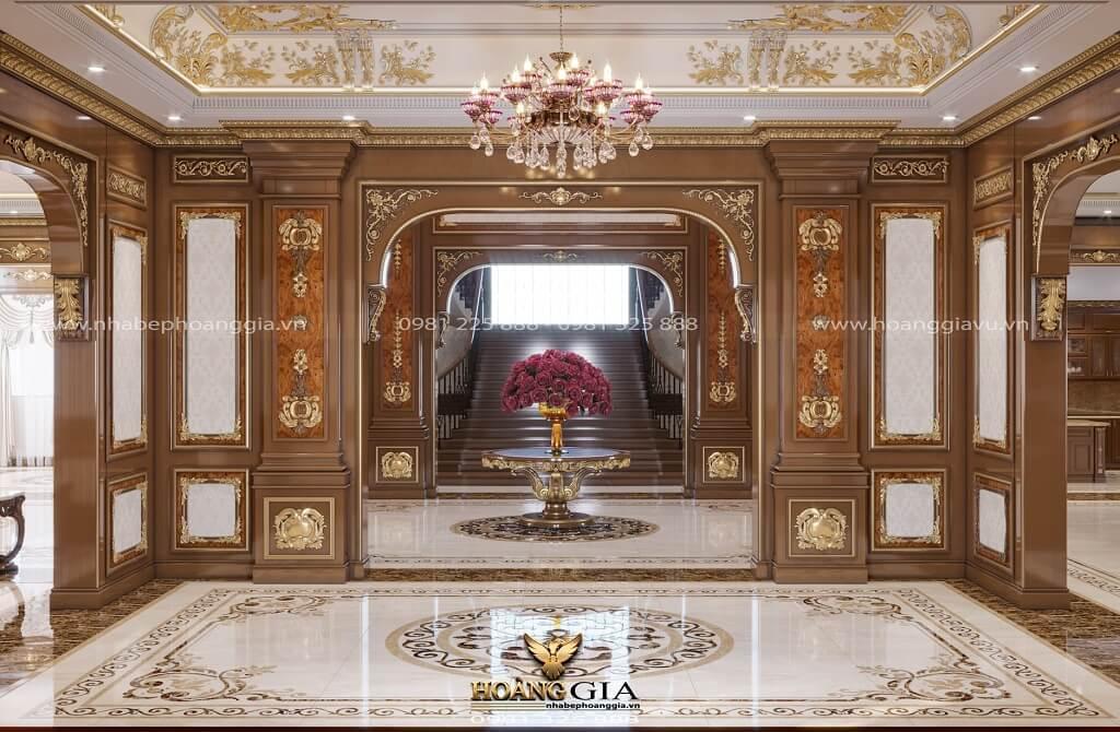 thiết kế nội thất tân cổ điển hoàng gia