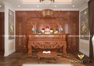 5+ mẫu bàn thờ đẹp cho người Việt