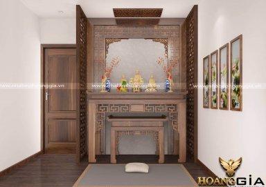 [Tìm hiểu ] mẫu thiết kế phòng thờ cho nhà chung cư