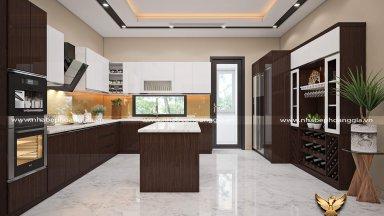 [Hỏi-Đáp] Nên đóng tủ bếp hiện đại bằng gỗ nào?