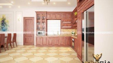 Chuyên thiết kế thi công nội thất tủ bếp gỗ cao cấp