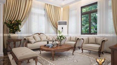 Những thiết kế nội thất phòng khách đẹp nhất 2019