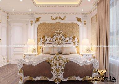 [Khám phá] phòng ngủ cổ điển dát vàng