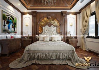 Mẫu giường ngủ tân cổ điển GN01