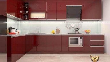 Báo giá tủ bếp acrylic 2020