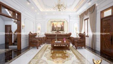 Cách bày trí nội thất phòng khách ấn tượng