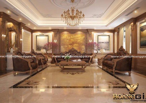 Dự án thiết kế nội thất biệt thự nhà anh Tuấn – Ninh Bình