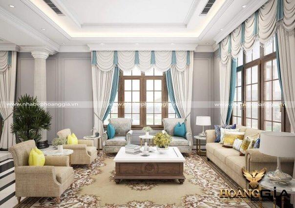 Dự án thiết kế thi công nội thất biệt thự Vinhomes Riverside Hoa Anh Đào