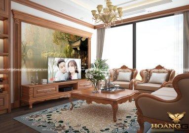Dự án thiết kế nội thất nhà cô Nội chung cư Phú Mỹ Ngoại Giao Đoàn