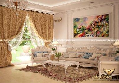 Dự án thiết kế nội thất sang trọng nhà anh Hòa – Vinhomes Hoa Sữa