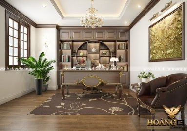 Dự án thiết kế nội thất phòng làm việc của Tổng giám đốc công ty may Kassil