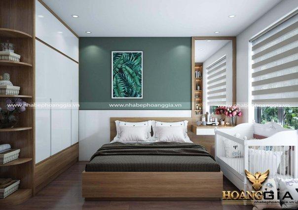 Dự án thiết kế và thi công nội thất chung cư nhà chị Mai An Bình City
