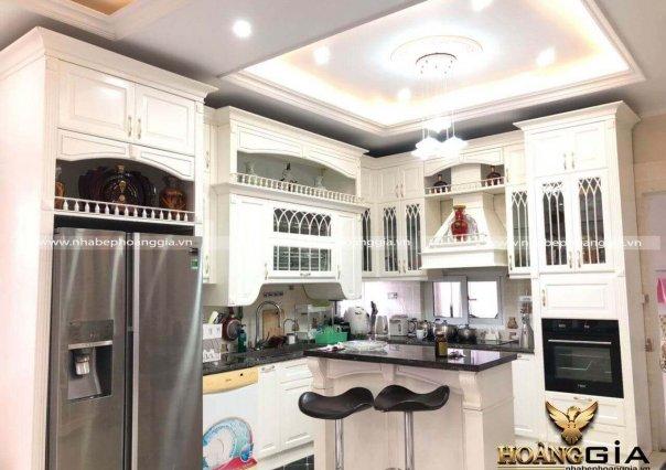 Công trình tủ bếp nhà chị Thùy Bắc Giang