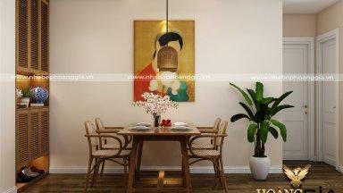 Giải pháp thiết kế nội thất căn hộ chung cư thêm rộng rãi, thoáng mát