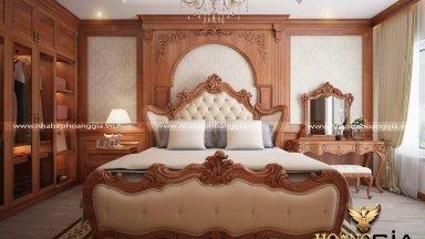 Top 10 mẫu giường ngủ tân cổ điển đẹp, lôi cuốn