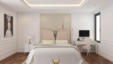 Giải mã sức hút của mẫu giường ngủ tân cổ điển Christopher Guy