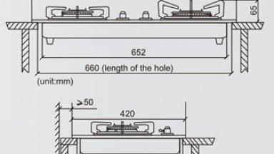 [Tìm Hiểu]Kích thước bếp ga phổ biến hiện nay