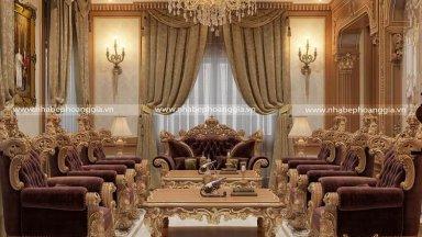 Kinh nghiệm lựa chọn kích thước sofa tân cổ điển đẹp chuẩn