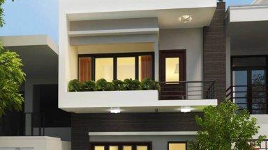 3 thiết kế mẫu nhà phố 2 tầng đẹp nhất năm 2019