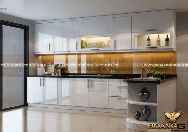 Mẫu tủ bếp Acrylic 05