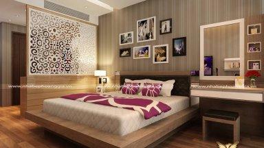 Rung động trước 10 mẫu giường gỗ đẹp đơn giản đầy ấn tượng