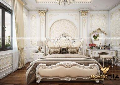 Mẫu thiết kế nội thất phòng ngủ cổ điển Châu Âu đầy kiêu sa, quý phái