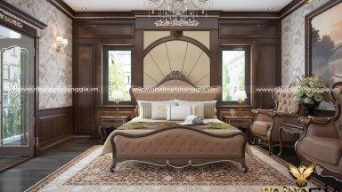 Mẫu phòng ngủ phong cách tân cổ điển mới được yêu thích nhất năm 2019