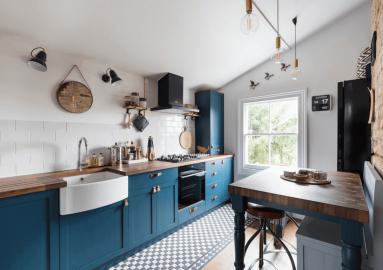 Mẫu nội thất bếp phong cách Bắc Âu – ý tưởng tuyệt vời cho căn bếp