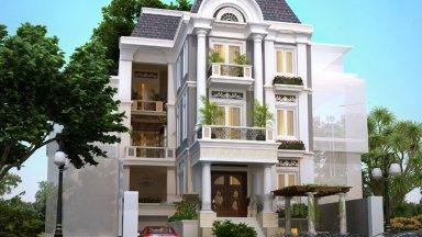 [Lưu ý] Nguyên tắc thiết kế biệt thự tân cổ điển đẹp, đầy ấn tượng