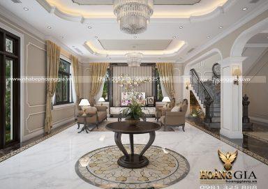 Mẫu thiết kế nội thất biệt thự tân cổ điển sang trọng