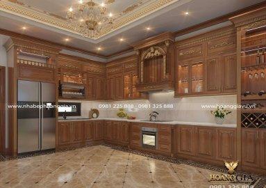 Phòng bếp hợp phong thủy cho người mệnh thổ