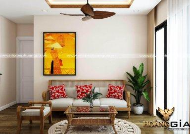 Phòng khách nhà chung cư với ý tưởng thiết kế độc đáo