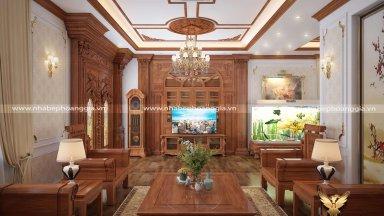 Top 5 mẫu phòng khách tân cổ điển đơn giản cho biệt thự đẹp nhất 2020
