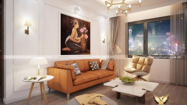 Sắp xếp nội thất phòng khách đẹp và tiện nghi