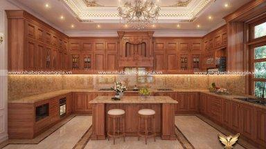 Showroom tủ bếp tại Hà Nội uy tín, chuyên nghiệp