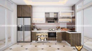 Tư vấn so sánh tủ bếp Laminte và tủ bếp Acrylic
