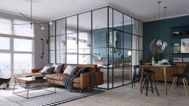 Xu hướng sử dụng kính trong thiết kế nội thất