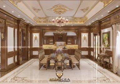 Dự án thiết kế nội thất tân cổ điển hoàng gia sang trọng, đẳng cấp