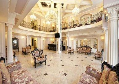 Mẫu thiết kế khách sạn mang phong cách Châu Âu tinh  tế