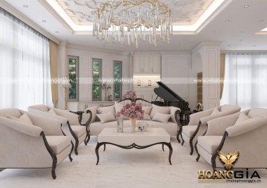 Dự án thiết kế và thi công nội thất biệt thự tân cổ điển Christopher Guy nhà anh Hà (Hải Dương)